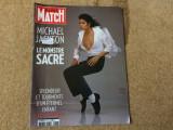 Michael jackson revista magazin paris match colectie fan muzica pop lb. franceza