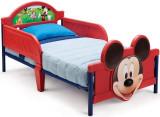 Pat cu cadru metalic Disney Mickey Mouse 3D, Multicolor