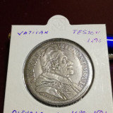 Monedă medievală argint Testone, Europa