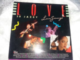 disc vinil vechi,LOVE,28 JAZZY,LOVE SONGS,1987,Dublu discuri,T.GRATUIT