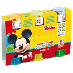 Mickey Mouse - Set 3 tuburi baloane de sapun