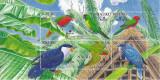 Nauru, pasari, papagali, 2005, 3 blocuri,  MNH**, Nestampilat