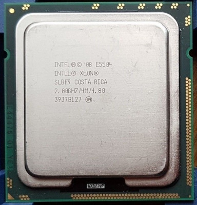 Procesor Intel Xeon E5504 2.00GHZ / 4M / 4.80 LGA 1366 Quad-Core foto
