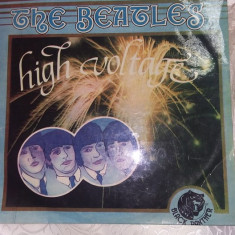 disc vinil THE BEATLES ,High voltage,Transport.GRATUIT