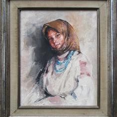 Portret de tarancuta - dupa Nicolae Grigorescu, Portrete, Ulei, Altul