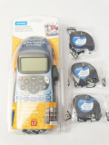 Imprimanta etichete DYMO LetraTag LT100H 09  sigilata + 4 rezerve sigilate