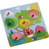 Joc Tip Puzzle, Haba, Animalele Ascunse, 12Luni+