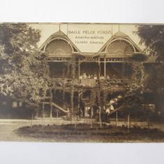 Carte postala circulata Baile Felix-Hotel Amerika anii 20, Printata