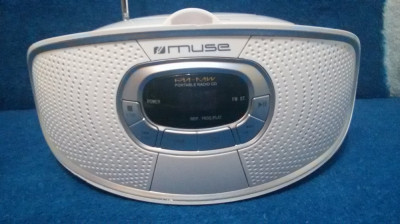 RADIO AM/FM CU CD PLAYER MUSE M-20 RDW PERFECT FUNCTIONAL foto