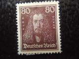 timbre deutsches reich -MI  397-NESTAMPILAT CU SARNIERA