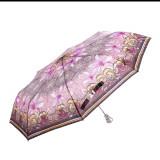 Umbrela dama SW0569 negru cu mov
