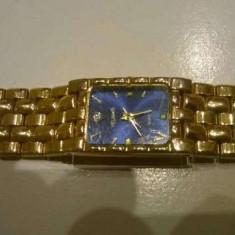 Ceas dama elegant placat cu aur