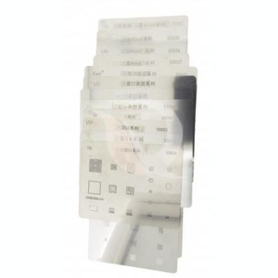 BGA Reballing SET site BGA | Samsung S | M2 | 12 pcs foto