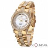 Ceas Yves Camani YC1043-C Tiberius Gold/White de Dama, Yves Camani