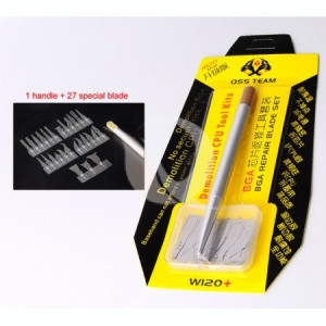 BGA Reballing BGA Repair Blade SET | 27 in 1