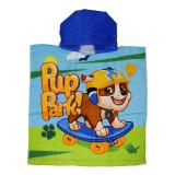 Poncho plaja Paw Patrol Pup Park 50x100 albastru