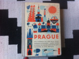 prague guide praha praga ghid turistic in limba franceza 1965 ilustrat harta