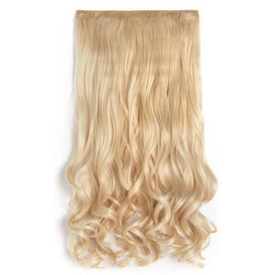 Extensii Par Blond Deschis Kanekalon Ondulat Okaziiro