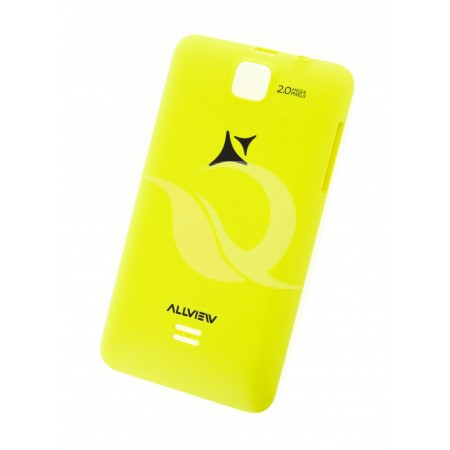 Capac Baterie Allview A4 Duo | Yellow | SWAP
