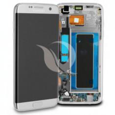 LCD Samsung Galaxy S7 Edge G935   Silver   Original / AM+ Calitatea A