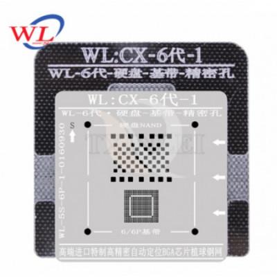 BGA Reballing WL WL:CX-6-1 for iPhone 6   6 Plus foto