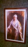 Regina Maria, Portrete, Cerneala, Realism