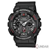 Ceas Casio G-Shock GA-120-1AER Antimagnetic Motorcycle Barbatesc