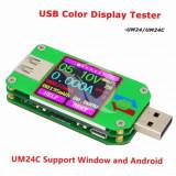 Aparatura Service UM24C Color Screen Display USB Tester DC Voltmeter Ammeter