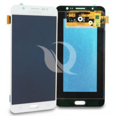 Display Samsung Galaxy J7 j710 2016 compatibil alb complet foto