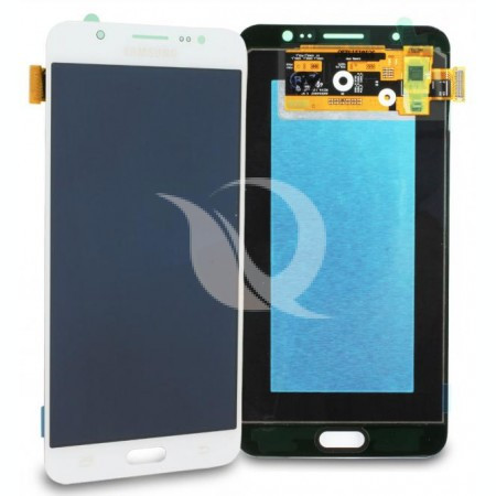 Display Samsung Galaxy J7 j710 2016 compatibil alb complet