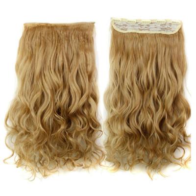 Extensii Par Blond Auriu Kanekalon Ondulat Okaziiro