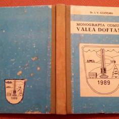 Monografia Comunei Valea Doftanei. Editie cartonata, 1989 - Dr. I. V. Cojocaru, Alta editura