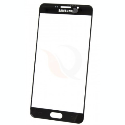 Geam   Lens Samsung Galaxy A7 (2016) A710   Black foto