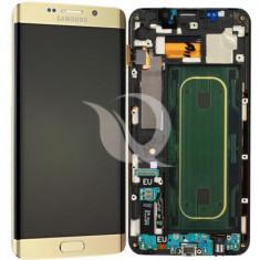 LCD Samsung Galaxy S6 Edge Plus G928   Gold   Original / AM+ Calitatea A