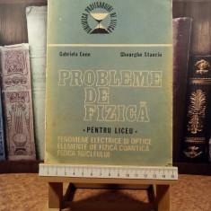 "Gabriela Cone - Probleme de fizica pentru licee ""A5415"""