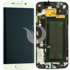 LCD Samsung Galaxy S6 Edge G925   White   Original / AM+ Calitatea A