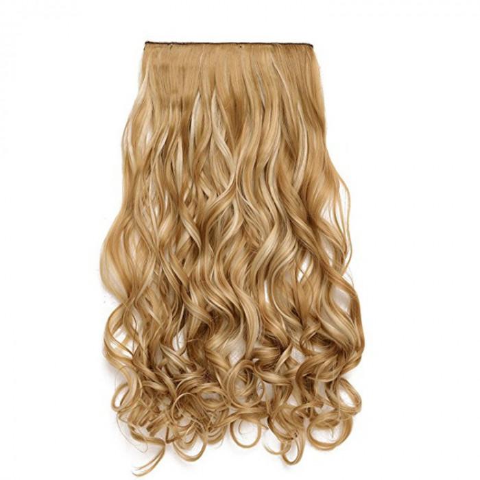 Extensii Par Blond Suvite Kanekalon Ondulat Okaziiro