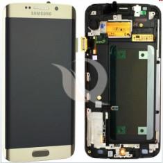 LCD Samsung Galaxy S6 Edge G925   Gold   Original / AM+ Calitatea A