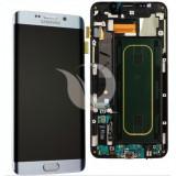 LCD Samsung Galaxy S6 Edge Plus G928   Silver   Original / AM+ Calitatea A