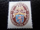 timbre deutsches reich -HERALDICA MI  401X-   NESTAMPILAT CU SARNIERA