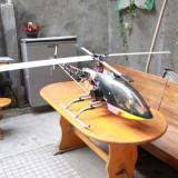 Elicopter RC benzina 2m UNICAT + telecomanda