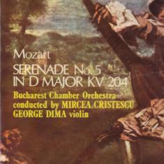 Vinil -  Mozart Serenada nr.5 pentru vioara si orchestra