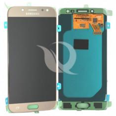 Display Samsung Galaxy J5 J530  2017 auriu original in cutie