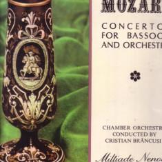 Vinil Mozart - CONCERTUL PENTRU FAGOT SI ORCHESTRA