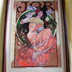 Tablou Opiu - nesemnat, nedatat, acuarelă pe carton, Scene gen, Acuarela, Altul