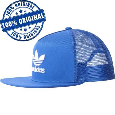 Sapca Adidas Originals Trefoil Trucker - sapca originala foto