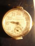 Ceas Military Watch ,carcasa argint 935 Elvetia ,inc.sec.XX Dcadran=3cm,colectie