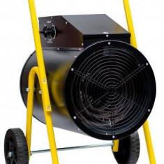 Aeroterma electrica Intensiv PRO 15 kW R 400V Negru Galben