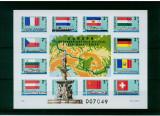 Ungaria 1977, transporturi, vapoare, nedantelat, Mi. Block 128 B, MNH, cat. 60 €, Nestampilat