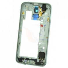 Mijloc   Corp Samsung Galaxy S5 Neo SM-G903F   Silver